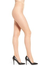 Wolford Women's 'Nola' Sheer Dot Tights Gobi Black