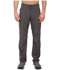 Columbia Silver Ridge Stretch Convertible Pants Grill Men's Casual Pants Gray