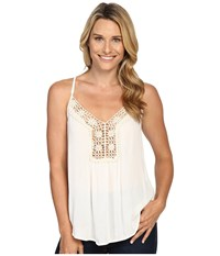 Roper 0445 Crepe Top Cami White Women's Sleeveless