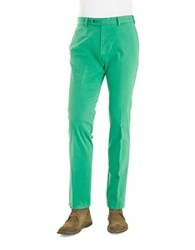 Bugatti Straight Fit Pants Green