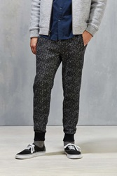 Native Youth Woolen Jersey Jogger Pant Black Multi