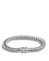 John Hardy Men's Sterling Silver Small Square Chain Bracelet