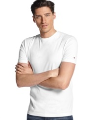 Tommy Hilfiger Core Beach Crew Neck T Shirt Classic White
