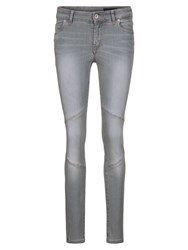 Marc O'polo Alby Pin Jeans In Dolphins Wash Grey