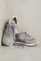 Anthropologie New Balance 574 Sneakers Grey