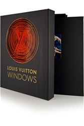 Assouline Louis Vuitton Windows By Vanessa Friedman Hardcover Book Black