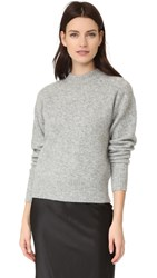 Dkny Pure Drop Shoulder Pullover Marble Heather