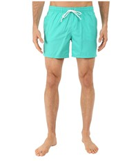 Lacoste Taffeta Swimming Trunk Papeete White Men's Swimsuits One Piece Blue