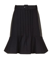 Claudie Pierlot Switch Belted Skirt Female Black