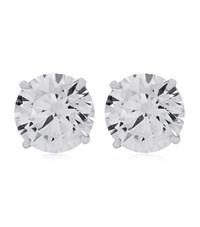 Carat 1Ct Eternal Stud Earrings Female
