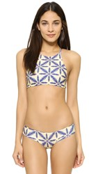 Stone Fox Swim Namema Bikini Top Batik