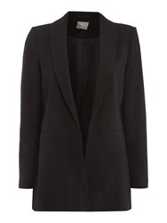 Vero Moda Long Sleeve Plain Blazer Black