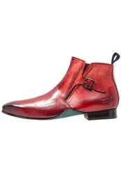 Melvin And Hamilton Ethan 16 Boots Red Navy