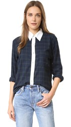Nsf Axel Shirt Hunter Plaid