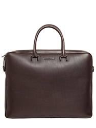 Givenchy Leather Briefcase Brown