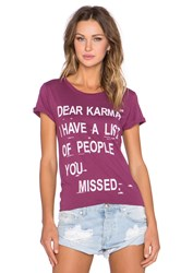 Local Celebrity Karma Schiffer Tee Pink