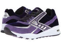 Brooks Heritage Regent Blackberry Codrinal Silver Chrome Men's Running Shoes Purple
