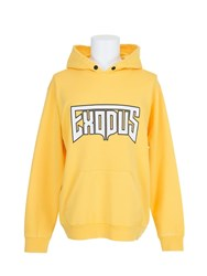 Palm Angels Exodus Hoodie Yellow