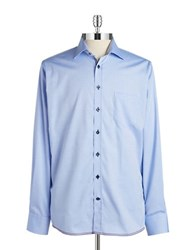 Pure Fashion Fit Sportshirt Light Blue