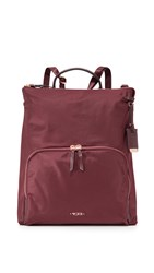 Tumi Jackie Convertible Cross Body Bag Merlot