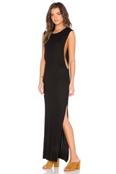Indah Jimmy Maxi Dress Black
