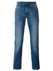 7 For All Mankind Slim Fit Jeans Blue