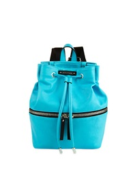 Kenneth Cole Reaction Bondi Girl Faux Leather Backpack Turquoise