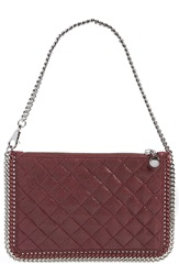 Stella Mccartney 'Falabella' Quilted Pouch 6110 Plum