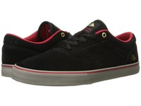 Emerica The Herman G6 Vulc Black Red Grey Men's Skate Shoes Gray