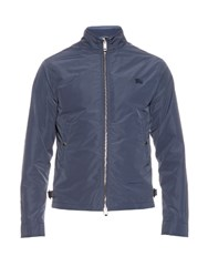 Burberry Waterproof Blouson Jacket Blue