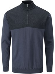 Ping Knight Lined Sweater Navy