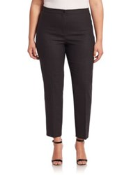 Marina Rinaldi Plus Size Fitted Ankle Pants Dark Grey