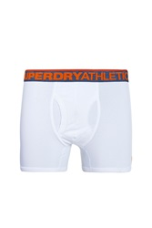 Superdry Athletic Sport Boxers Double Pack White