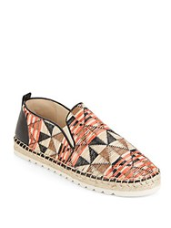 Nine West Noney Woven Straw Espadrilles Redora