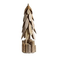 Nordal Wooden Christmas Tree Ornament Small