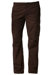 Dickies New York Cargo Trousers Chocolate Brown