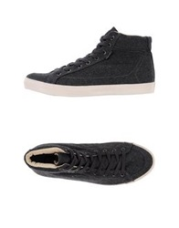 Pointer High Tops And Trainers Dark Blue