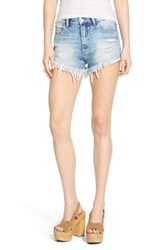 Blank Nyc Women's Blanknyc Cheeky Denim Shorts All Night Long