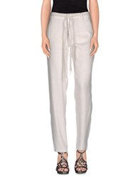 Ermanno Scervino Denim Denim Trousers Women White