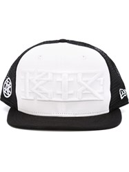 Ktz Ktz X New Era Embroidered Logo Cap Black