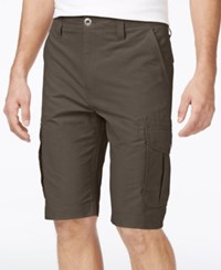 Ocean Current Men's Peached Cargo Shorts Militia
