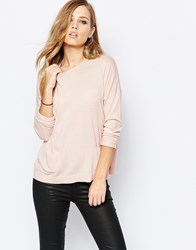 Sisley Lightweight Knit In Soft Pink Pink