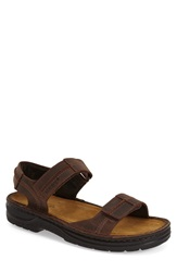 Naot Footwear 'Balkan' Sandal Men Brown Leather