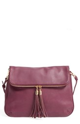 Bp. Foldover Crossbody Bag Purple