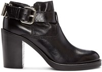 Mcq By Alexander Mcqueen Black Wick Bullet Ankle Boots