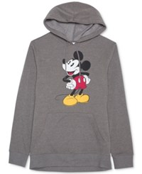 Jem Men's Mickey Mouse Graphic Print Hoodie Oxford