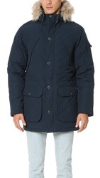 Penfield Hoosac Hooded Down Mountain Parka Navy