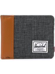 Herschel Supply Co. Denim Foldover Wallet Grey