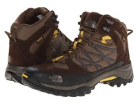 The North Face Storm Mid Wp Weimaraner Brown Antique Moss Green Men's Hiking Boots