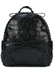 Philipp Plein 'Only Two' Backpack Black